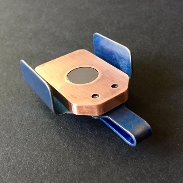 Copper & Titanium: Blue Tumbled
