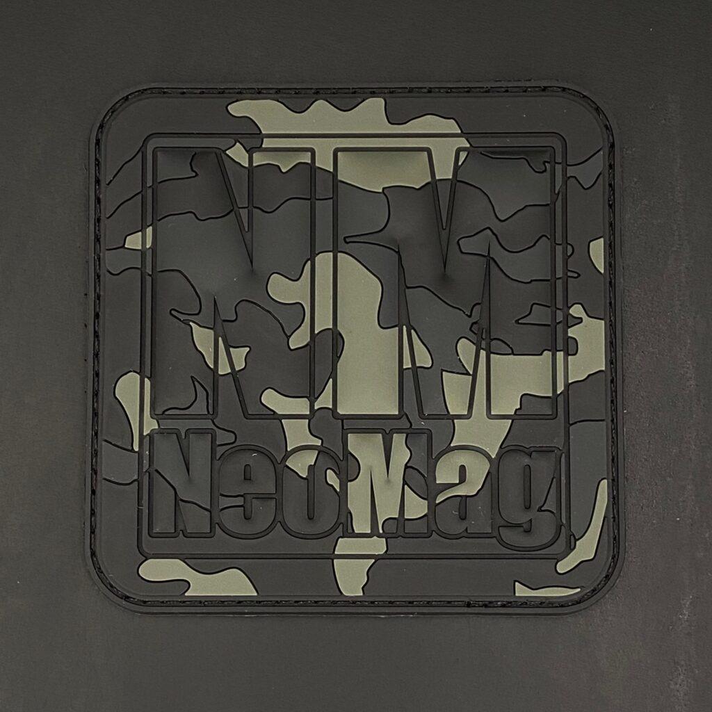 Black Multicam NeoMag Patch
